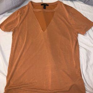 Velevety shirt from forever 21